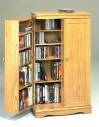 winsome wood cd dvd cabinet with glass doors storage cabinets furniture