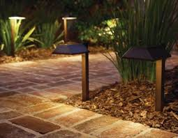 Malibu Kendleton Collection 4 Pack Solar Bollard LED Pathway Malibu Solar Powered Landscape Lighting