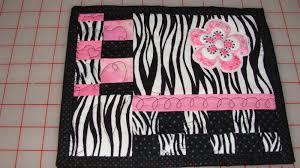 image of best pink and black zebra rug