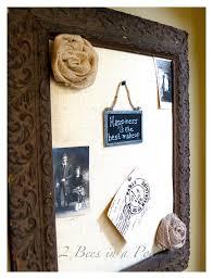 diy burlap bulletin board made from a salvaged antique frame burlap foam board