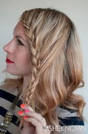 Hairstyle Braid howto lace braid hairstyle tutorial 5100 by stevesalt.us