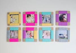 frame itself make colour wanddeko ideas frame your own