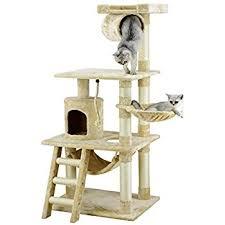 Amazon Armarkat B6802 68 Inch Cat Tree Ivory Cat Condo