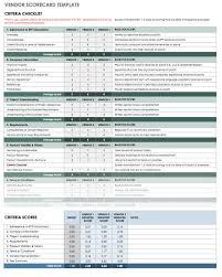 Vendor Comparison Chart Template 13 Free Vendor Templates Smartsheet