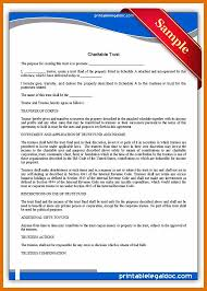 14 Application Letter Format For Charity Trust Texas Tech Rehab