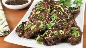 korean flanken short ribs for the