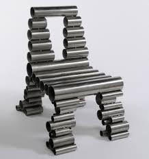 metal design furniture. Reclaimed Metal Tube Chair By Osian Batyka-Williams Metal Design Furniture I