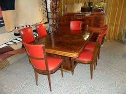 Original French Art Deco Modernist Dining Suite 1930s at 1stdibs
