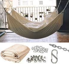 DIY an Instant Summer Hammock