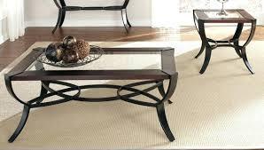 black end table set glasetal coffee table sets black end tables set 3 piece