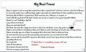 essay writing my best friend the writing center  essay writing my best friend