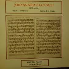 popsike.com - WS 216 Bach Partitas For Solo Violin / Priscilla Palmer  (Baroque Violin) - auction details
