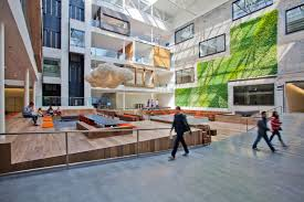 airbnb office london. Airbnb-cool-office-deisgn-atrium-wood Airbnb Office London J