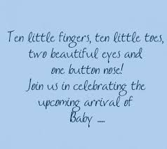 Beautiful Quotes For Baby Boy Best of 24 Lovely Examples Of Wording For Your Shower Invites Disney Baby