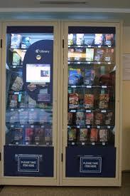 Book Vending Machine Library Fascinating Book Vending Machines CHS Pylon