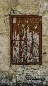 Kostenlose Foto Holz Haus Fenster Alt Mauer Dorf Zerfallen