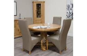 deluxe round extending table seat 4 to 8