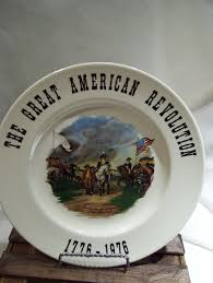 the great american revolution 1776 1976 surrender of cornwattis john trumbull collectible plate