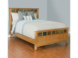 Sunny Designs Sedona 2334RO-Q Queen Bed with Slate Tiles | Gill Brothers  Furniture | Panel Beds
