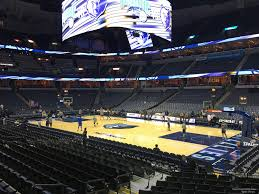 Fedex Forum Memphis Grizzlies Seating Chart Fedex Forum Section 116 Memphis Grizzlies Rateyourseats Com