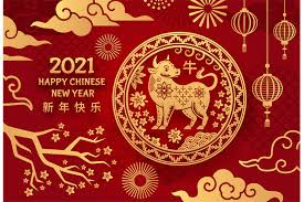 Pagesbusinessesfinancefinancial servicesentbe japanvideoshappy lunar new year gif. Ox Year 2021 Chinese New Year Astrological Zodiac Mascot Bull With Ho By Tartila Thehungryjpeg Com