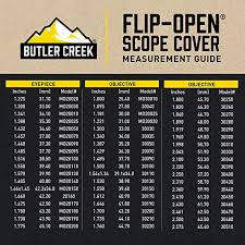 Butler Creek 09 Objective Flip Open Scope Cover