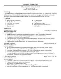 Stock Associate Resume for Stock Associate Resume