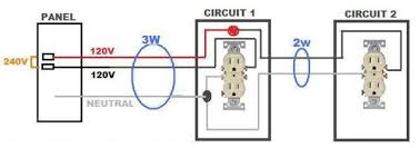 get two 120v circuits from one 240v circuit doityourself com mwbcd jpg views 84 size 18 2 kb