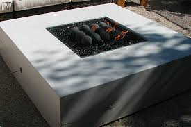 Modern Fire Pit Table With Glass TopCal Flame FPTG2500  On Sale NowModern Fire Pit