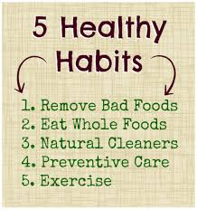 healthy habits for you your family holiday edition