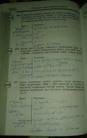 ГДЗ по информатике класс Босова рабочая тетрадь решебник