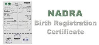 How To Make A Birth Certificate Birth Certificate Karachi From Nadra Pakistan For Visa