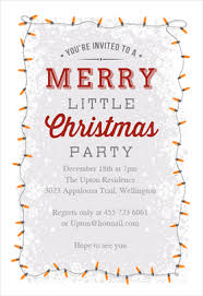 free printable christmas invitations templates a merry little party printable invitation template customize add