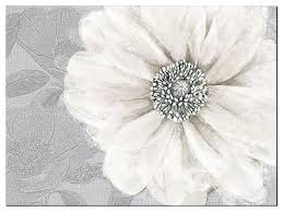 grey bloom canvas wall art on grey and white canvas wall art with grey bloom canvas wall art contemporary artwork by graham brown