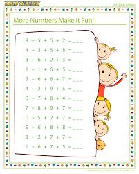More Numbers Make it Fun! - Free Printable Math Worksheet for 3rd ...