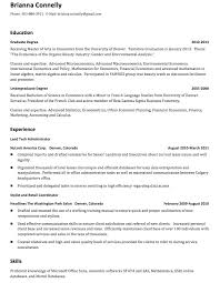 Resume After First Job Perfect Resume 2017