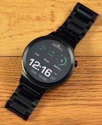 huawei smartwatch black. the huawei watch has a quality build. smartwatch black