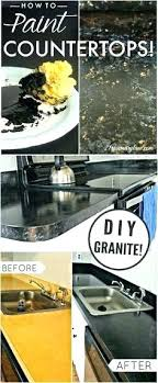 granite paint for laminate countertops painting to look like marble how to paint your to look
