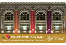 Miller Symphony Hall Seating Chart Miller Symphony Hall Gift Card Miller Symphony Hall