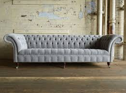 grey velvet chesterfield sofa. Wonderful Velvet Naples Silver Grey Velvet 4 Seater Chesterfield Sofa Front To