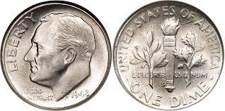 Roosevelt Dime Value Chart Roosevelt Dime Value 1946 To 2018 Coin Helpu