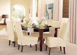 slipcovered dining chairs. White Elegant Dining Chair Slipcover : Chairs Slipcovers With New Design Model Slipcovered H