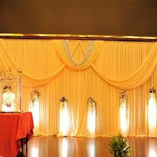 aliexpress com buy top quality luxury ice silk material 3mx6m Wedding Background Stage Designs top quality luxury ice silk material 3mx6m wedding background yellow wedding stage backdrop curtain event party wedding stage background ideas