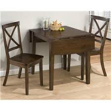 three piece dining set: jofran taylor cherry  piece dining set