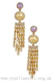 women jenny packham green width gold free from crystal chandelier earrings accessories drop rare