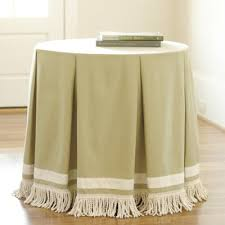 round bedside table covers 500 best table skirts images on