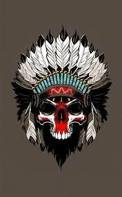 American Indian Skull Wallpapers - Top ...