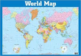 Buy World Map Wall Chart Wall Charts Book Online At Low