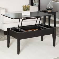 stylish coffee table with rising top turner lift espresso hayneedle storage stool glass marble ottoman ikea fish tank
