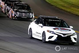 2018 toyota nascar. 2018 toyota camry pace car christopher bell kyle busch motorsports nascar